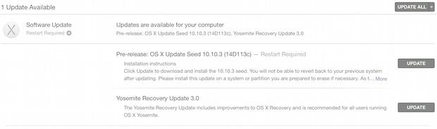OS X 10.10.3 beta 5