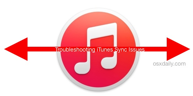 Troubleshooting iTunes 12 syncing issues