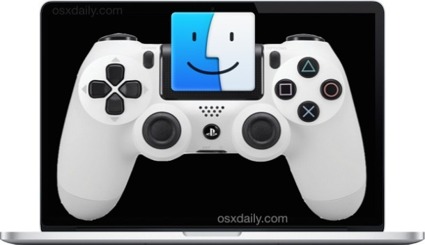 Use a PS4 Controller with a Mac