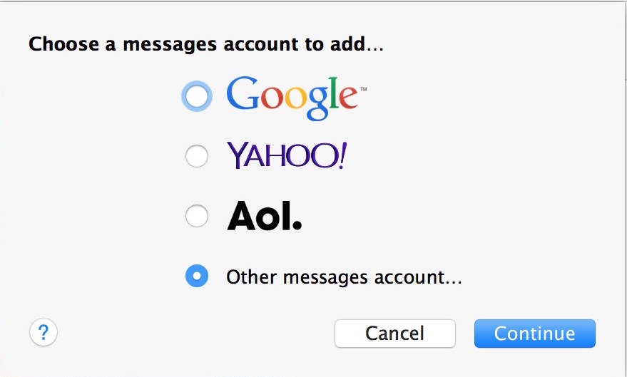 Add Facebook Chat to Mac Messages app