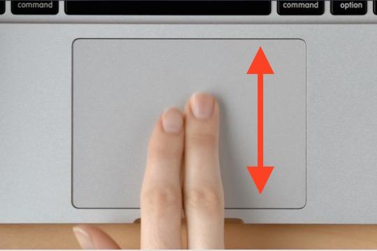 Adjust scrolling speed in Mac OS X