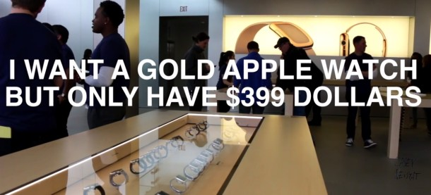 Convert your cheap Apple Watch into a gold lookalike Edition model