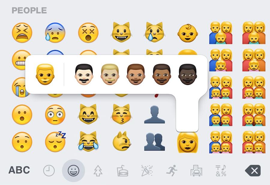 Access the Diverse Emoji in iOS Keyboard