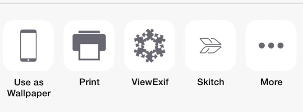 Enable Extensions in iOS