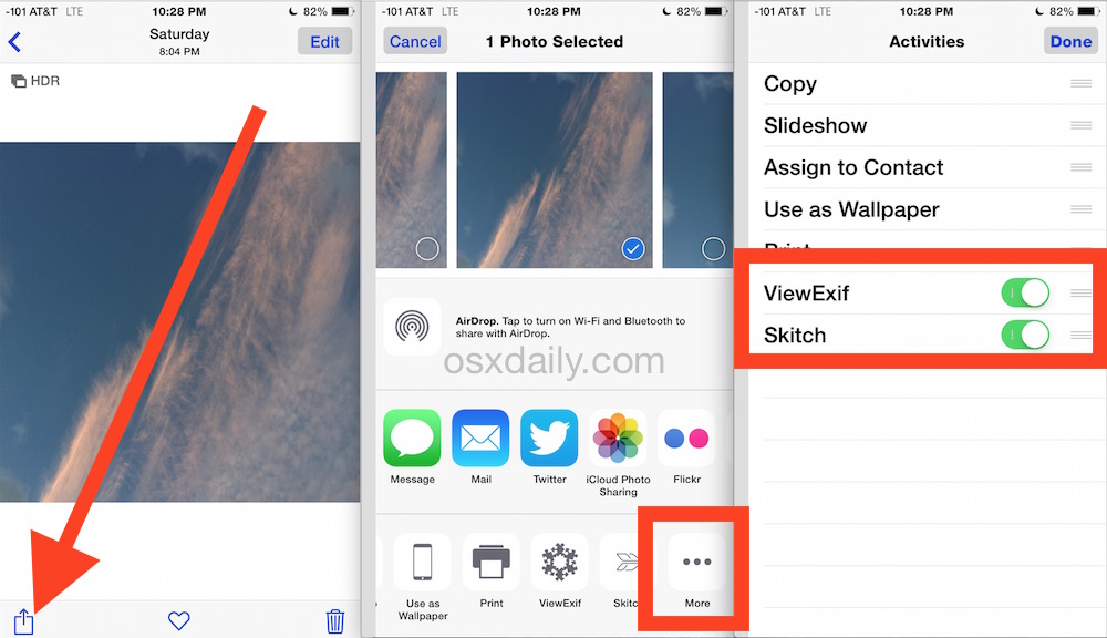 How to enable Extensions in iOS