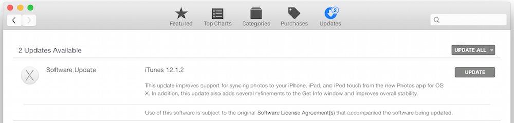 iTunes 12.1.2 update
