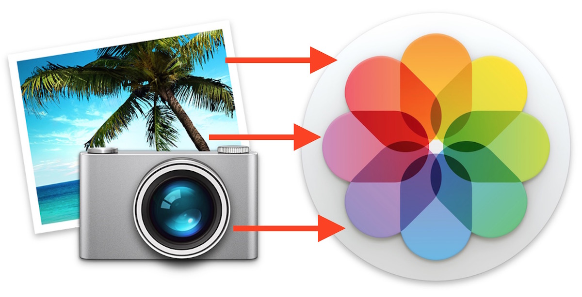 Move an iPhoto Library into Photos app of Mac OS X
