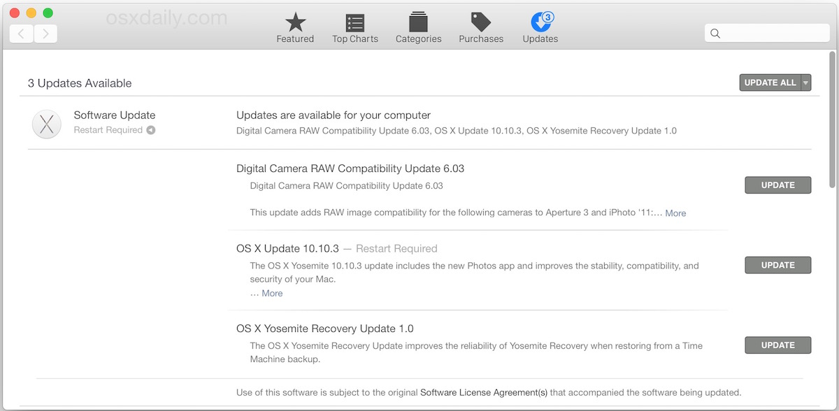 OS X 10.10.3 Update download available for all Mac users