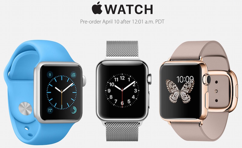 Pre order Apple Watch at midnight