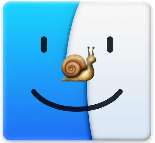 Slow Finder in Mac OS X