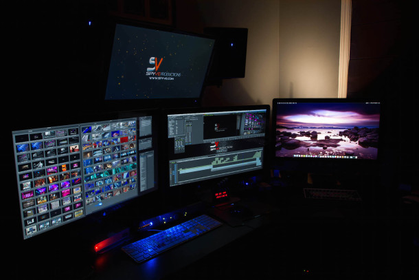 Video production professional Mac setup