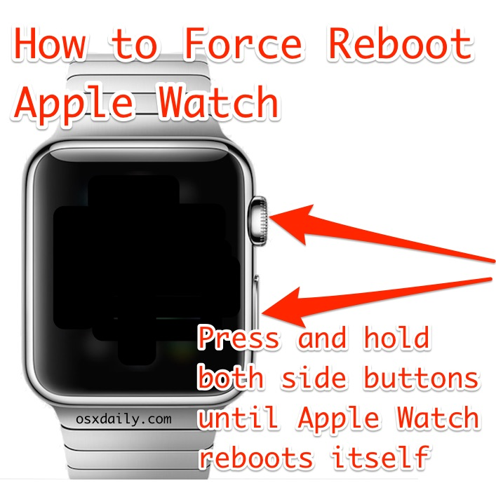 How to Force Reboot Apple Watch