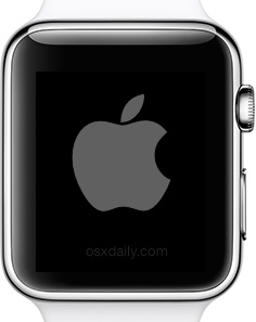 Restart the Apple Watch
