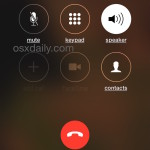 a speaker phone call on iPhone made from Siri