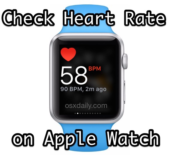 How to check and measure Heart Rate in BPM with Apple Watch