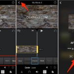 How to add overlay text on video with iMovie for iPhone