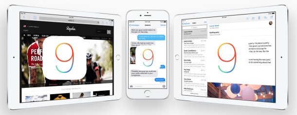 iOS 9 devices