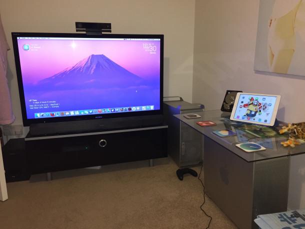 Man cave Mac pro setup