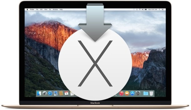 Making a bootable OS X El Capitan installer drive for Mac