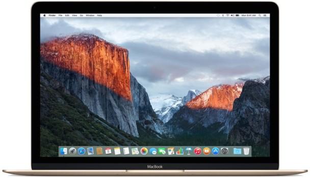 OS X El Capitan default desktop wallpaper