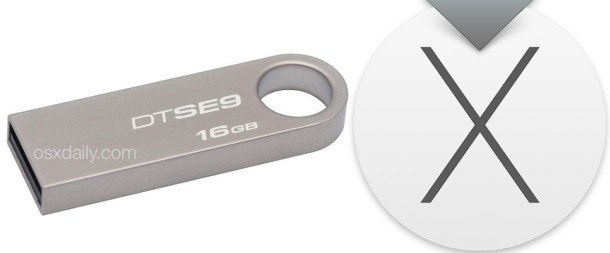 OS X El Capitan install USB flash drive