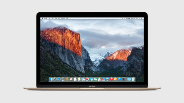 OS X El Capitan on a Mac