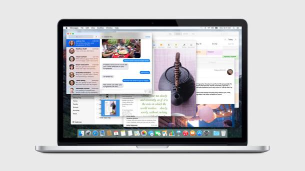 OS X El Capitan mac screen shot