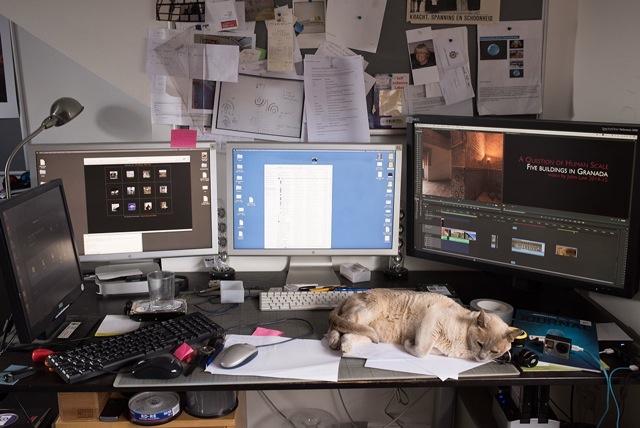Panographer Mac Pro setup, with an assistant