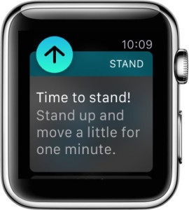 Stand Reminder on Apple Watch