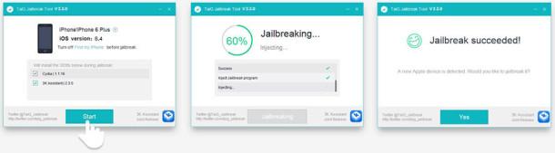 TaiG jailbreak for iOS 8.4