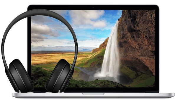 Beats headphones with a MacBook Pro
