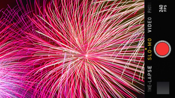 Capture amazing video of fireworks with iPhone and iPad