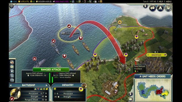 Civilization V mac screen shot