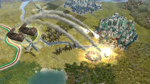 Civilization Mac screenshot