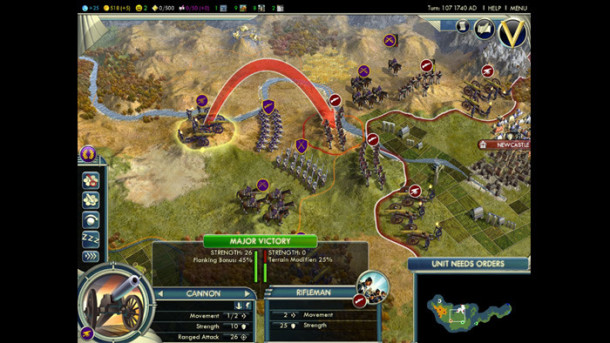 Civilization V mac screen shots