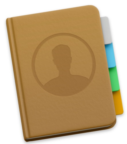 Contacts app in Mac OS X
