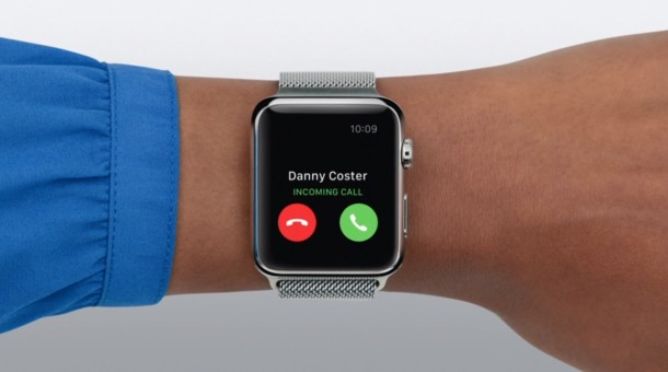 Dismiss incoming phone calls to Apple Watch