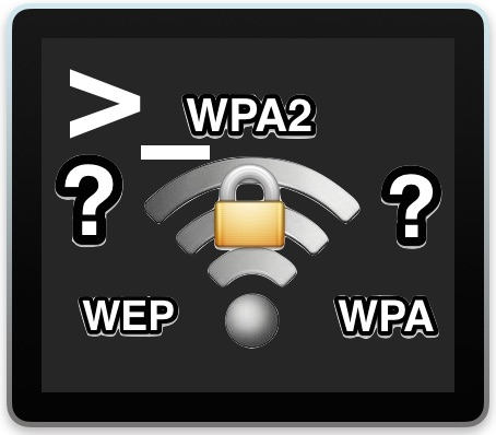 Find a wi-fi network router password from Mac command line
