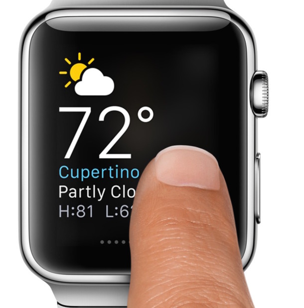 Glances on Apple Watch