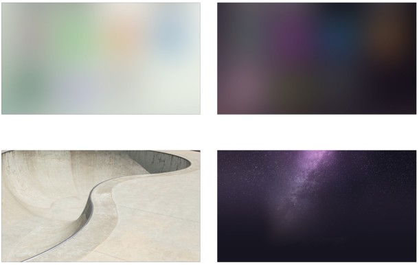 iPhone microsite wallpapers