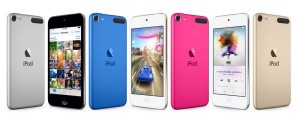 iPod Touch 6th generation lineup