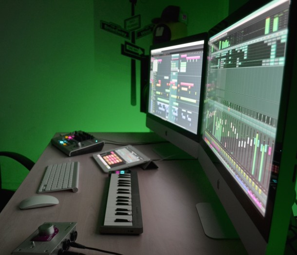 Mac Setup of a professional DJ and Music Producer
