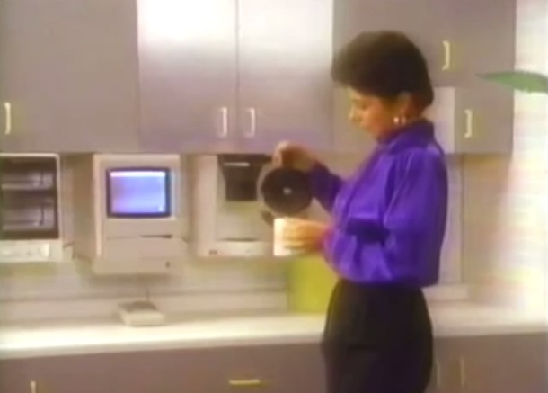 Talking Mac in your kitchen making you coffee and gathering the news for you, sure why not from 1987