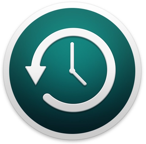 Time Machine icon in Mac OS X
