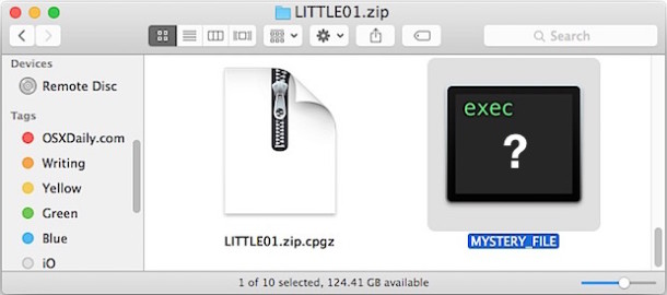 Determine file type and encoding type of a file in Mac OS X command line