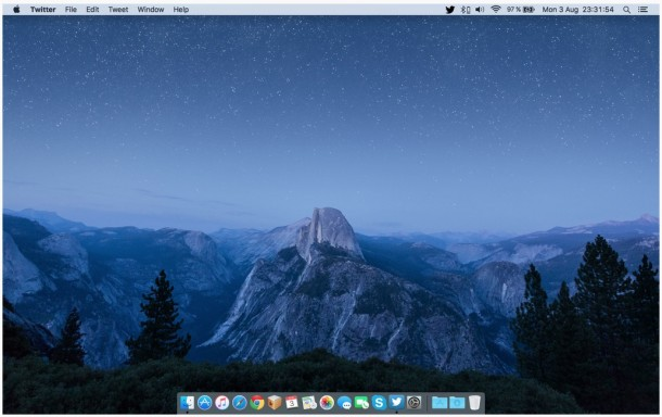 El Capitan Glacier Point night time view wallpaper