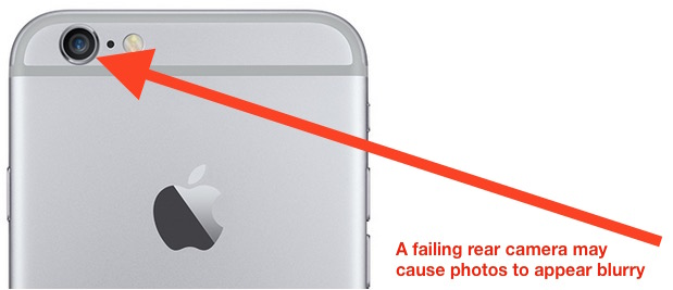 Rear iPhone 6 Plus camera taking blurry photos is eligible for free repair