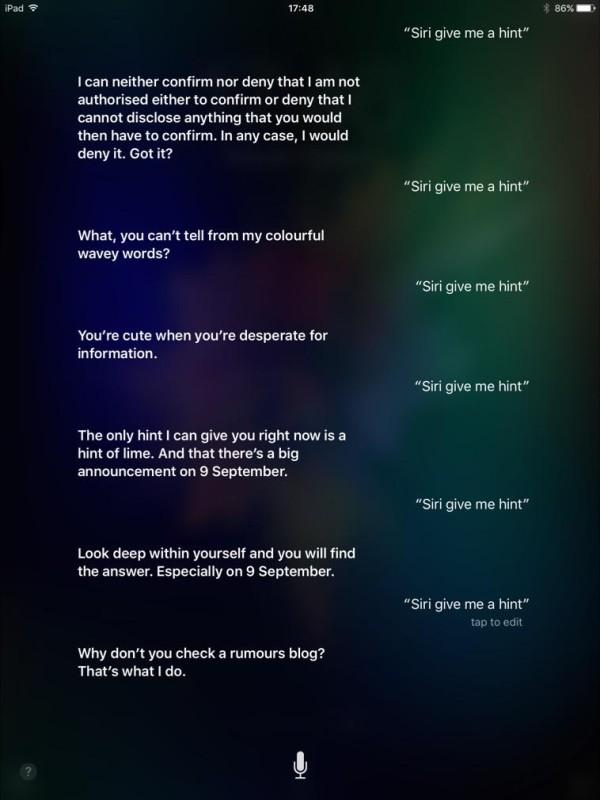 Siri, give me a hint