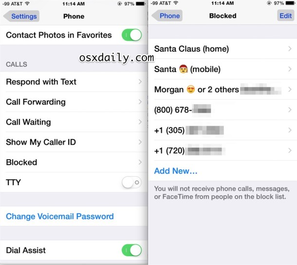 how to unblock contacts on iphone how to unblock a caller on iphone 1694