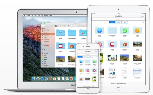 iCloud Drive offers file access in iOS